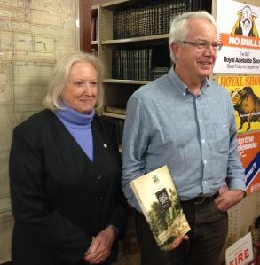 Marilyn Ward, Archivist & rob Lunn, Author at OHAA presentation June 19, 2014