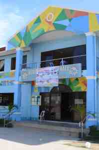 The 'Local Government' offices I visited and where the mother of my friend, colleague and guide, Cathy, is the office manager of the 'Barangay Buaya'.