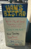 The food was good–Berkeley