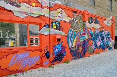 A hamburger Cafe in Winnipeg