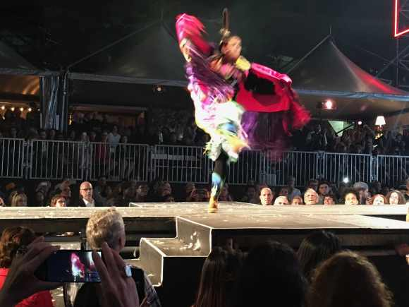 First Nation 'fashion' and dance